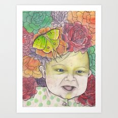 Ugh. Another Baby. Art Print