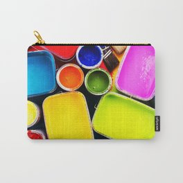 Colorful Paint Carry-All Pouch