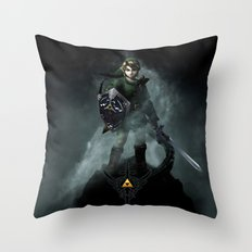 Legend Of Zelda - Skyward Sword Throw Pillow