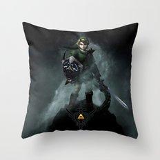 Legend Of Zelda - Skyward Sword Throw Pillow