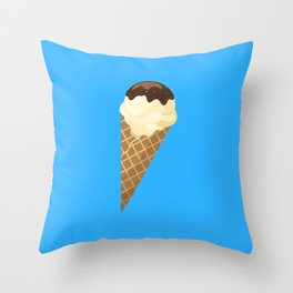 Ice Cream Set - 6 Throw Pillow