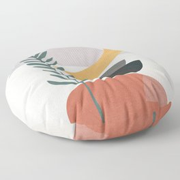 Abstract Shapes No.25 Floor Pillow
