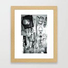 Adirondack Kitchen Framed Art Print