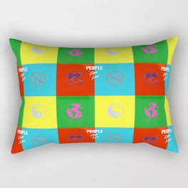 Under Pressure Rectangular Pillow