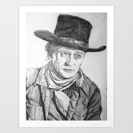 """The Duke"" Art Print"