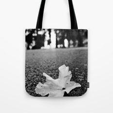 Fallen flower Tote Bag