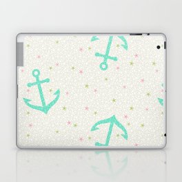Starfish Anchors - Pearl Laptop & iPad Skin