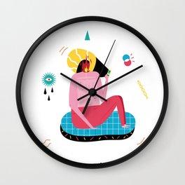 Todo lo que creo haber visto es mentira Wall Clock