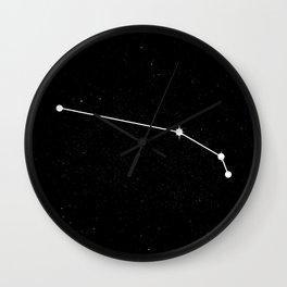 ARIES (BLACK & WHITE) Wall Clock