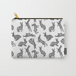 HARES PATTERN Carry-All Pouch