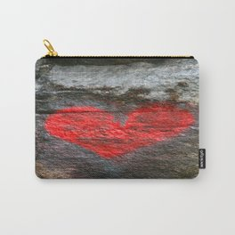 Rock Heart  Carry-All Pouch