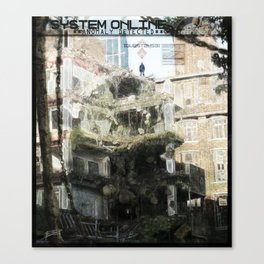 Dystopian Anomaly Canvas Print