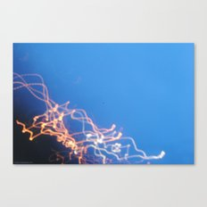 Firefight. Canvas Print