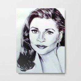 Faye Dunaway Metal Print