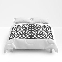 Tribal Print B&W- 04 Comforters