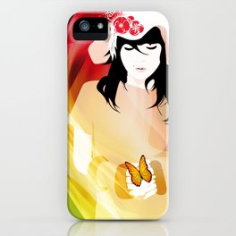 L'illusion de l'amour iPhone Case