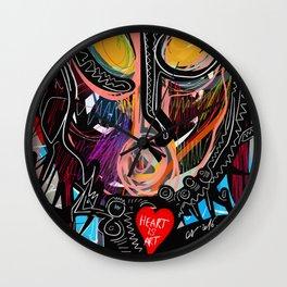Heart is Art Wall Clock