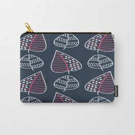 Geometric leaves pattern 2 Carry-All Pouch