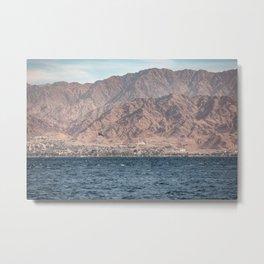 Port of Aqaba Metal Print