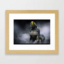 Abandoned Alien 01 Framed Art Print