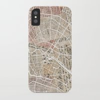 berlin iPhone & iPod Cases featuring Berlin by Mapsland