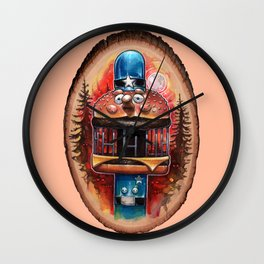 My Body is a Cage Wall Clock