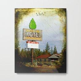 Juniper Lodge Metal Print