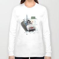 future Long Sleeve T-shirts featuring _ FUTURE by lia freitas.