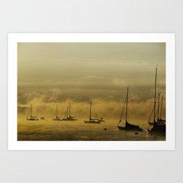 Morning Mist Art Print