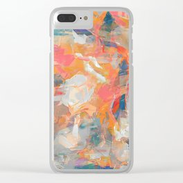 The Crazy Cyclist Clear iPhone Case