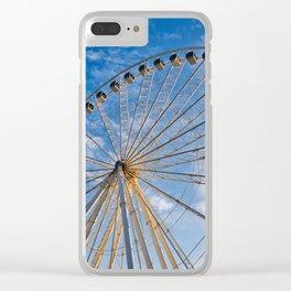 Ferris Wheel 8 Clear iPhone Case