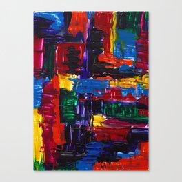 Patchwork Quilt Canvas Print