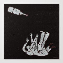 amantes Canvas Print