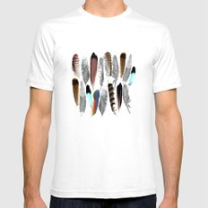 Indian head White Mens Fitted Tee SMALL