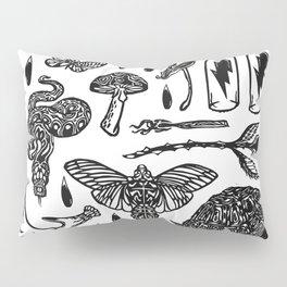 Icon Black and White Pillow Sham