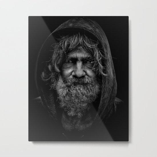 homeless man people 5 Metal Print