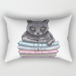 The Throne of the Cat Rectangular Pillow