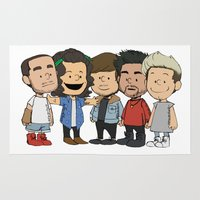 1d Area & Throw Rugs featuring Schulz 1D by Ashley R. Guillory