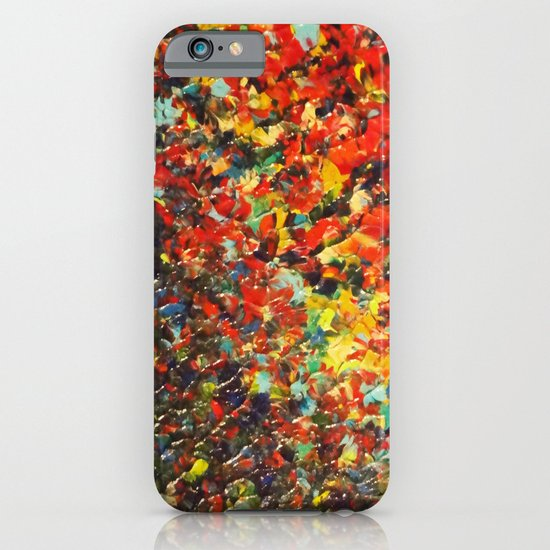 END OF THE RAINBOW - Bold Multicolor Abstract Colorful Nature Inspired Sunrise Sunset Ocean Theme iPhone & iPod Case