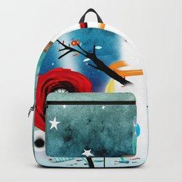 Aurora Australis Christmas Whimsical Stars Backpack