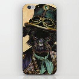 Sir Cornelius Kirby (steampunk) iPhone Skin