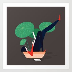 Mood 1 Art Print