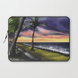 sunset at Boa Viagem Beach Laptop Sleeve
