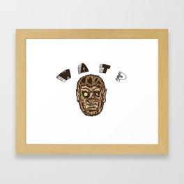 Werewolf's Daze Framed Art Print