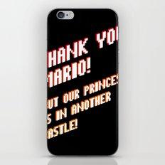 Thank You Mario! iPhone & iPod Skin