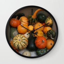 Autumn in Bath Wall Clock