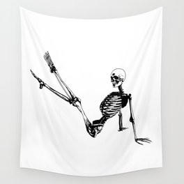 Skeleton Breakdance Wall Tapestry