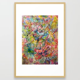 The Transubstantiation of Thought  Framed Art Print
