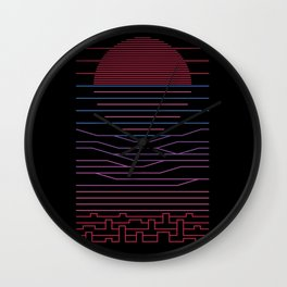 Leave The City For The Sale Wall Clock