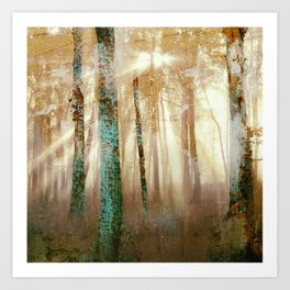 Forest Light Art Print